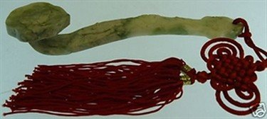 6: REAL JADE LUCKY STICK - YUYI