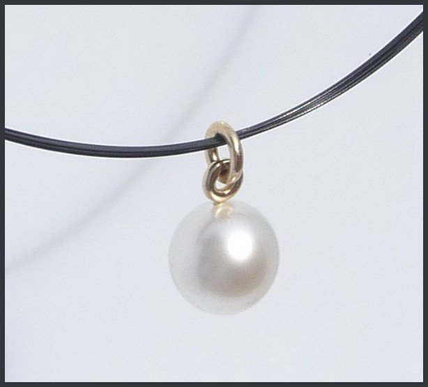 12A: 14.5mm Natural South Sea Pearl Drop