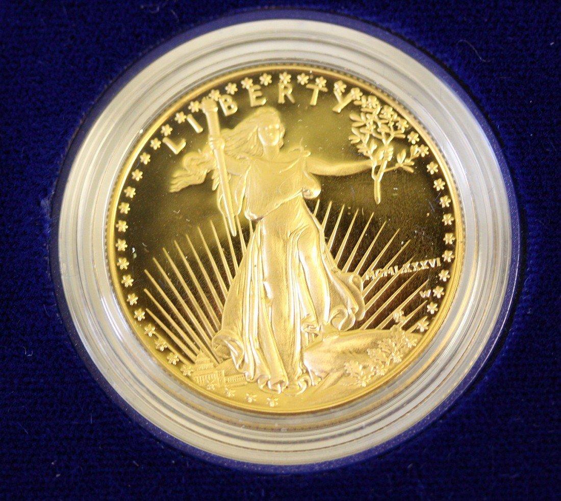 800M: 1986 Gold Eagle Proof