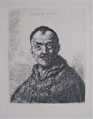 3A: REMBRANDT THE FIRST ORIENTAL HEAD