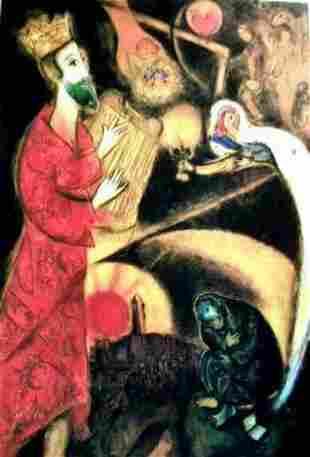 5A: MARC CHAGALL KING DAVID LIMITED ED. GICLÉE
