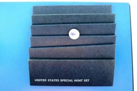 101: Seven (7) 1966 United States Special Mint Sets