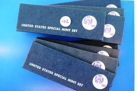 102: Eight (8) 1967 United States Special Mint Sets