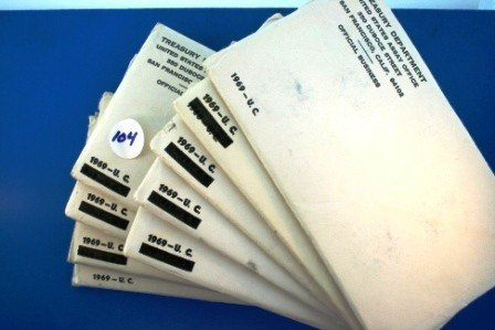 104: Nine (9) 1969 United States Uncirculated Coin Sets