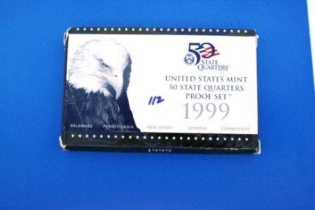 112: Three (3) 1999 United States Proof Sets AND One (1