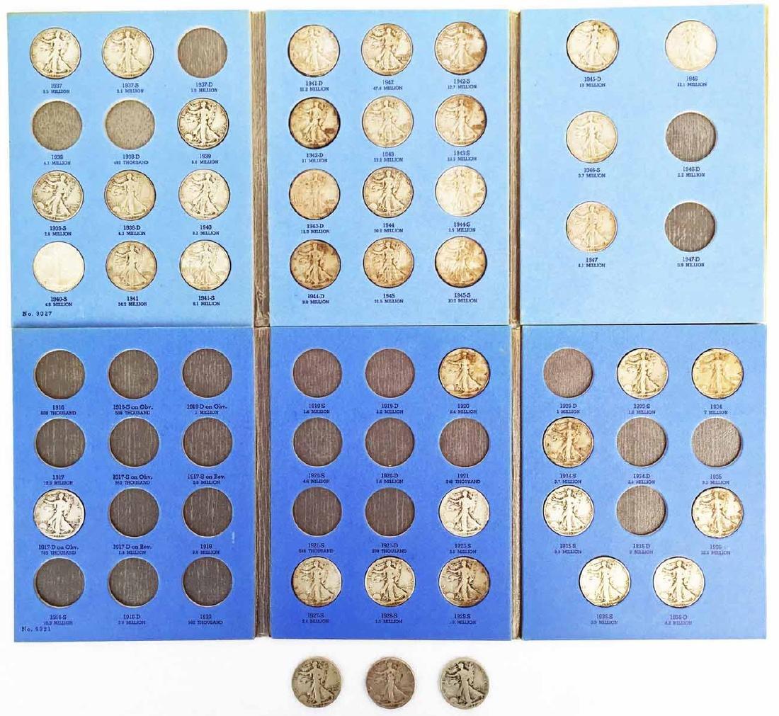 (41) Liberty Walking Half Dollar Coins