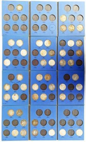 Collection Of (46) Morgan Silver Dollars