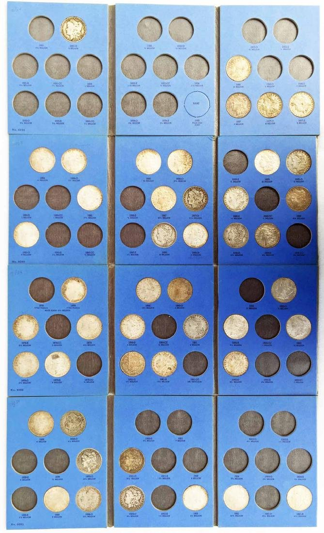 Collection Of (46) Morgan Silver Dollars