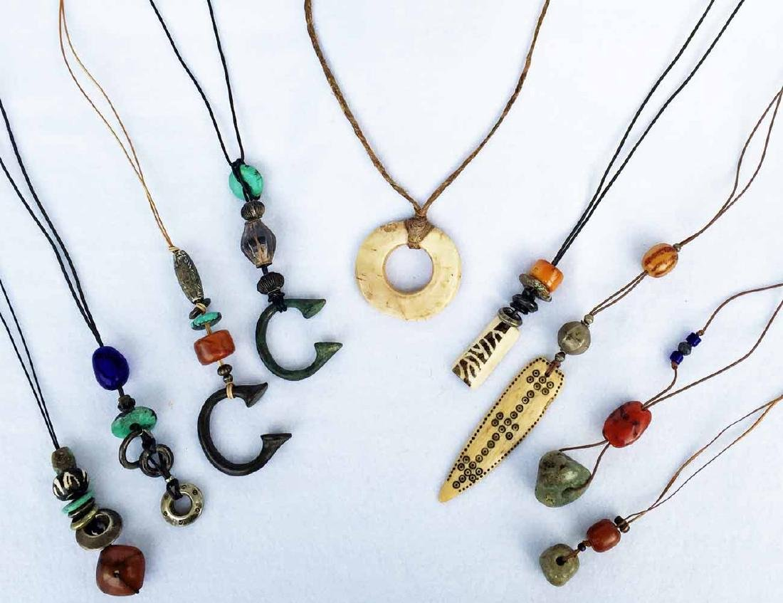 (9) African Necklaces