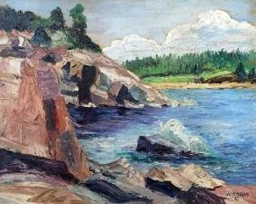 Johnson Oil Painting