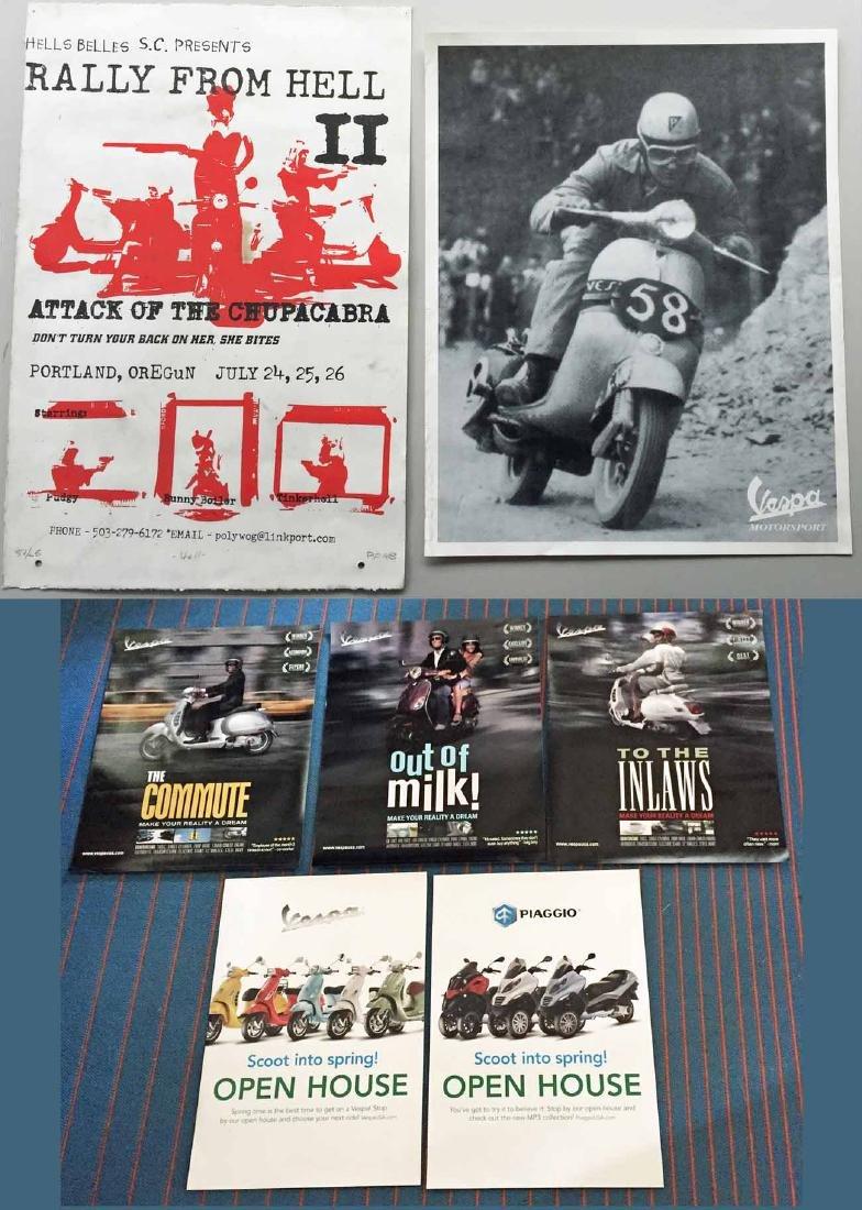 (8) Vespa Posters