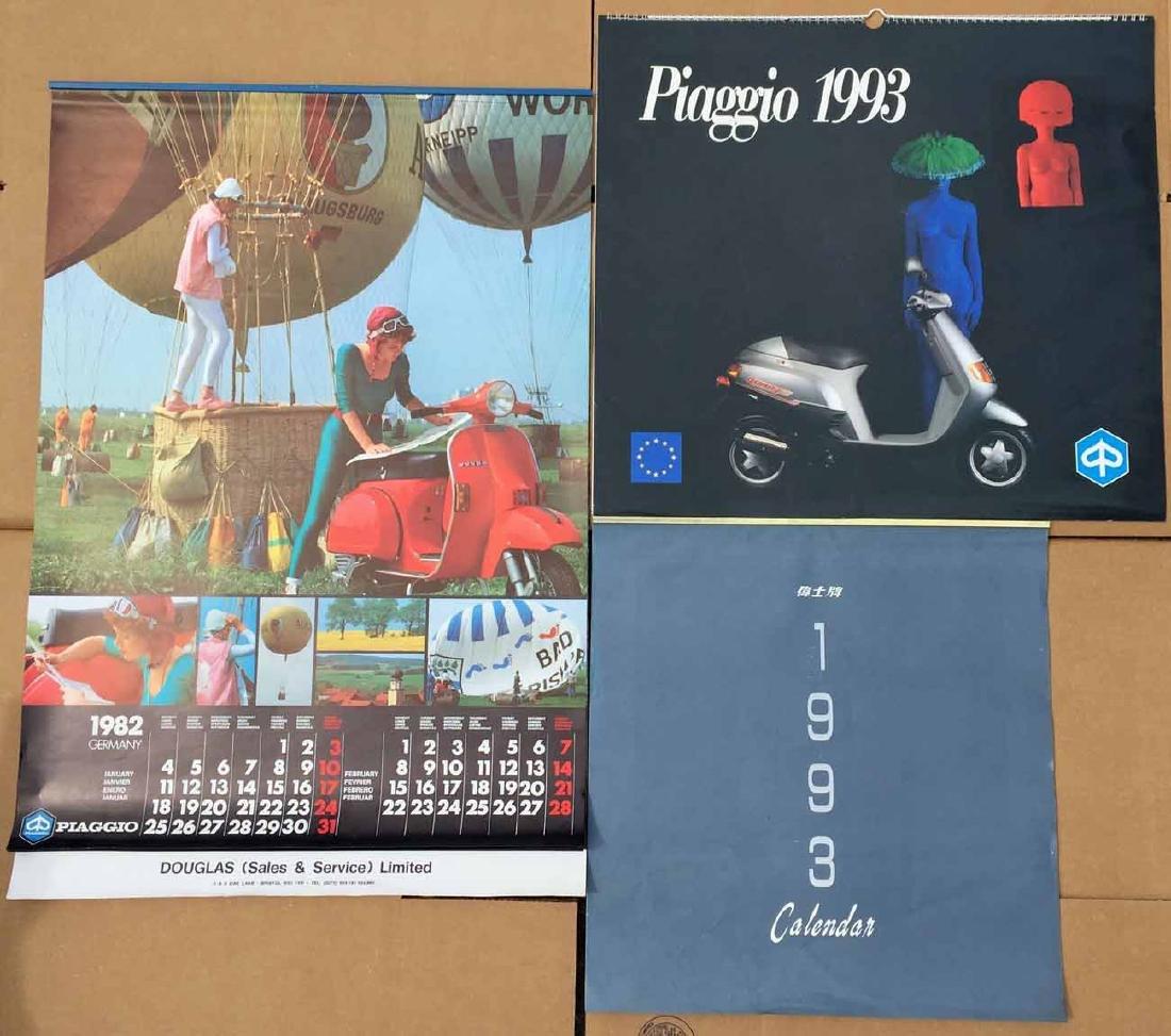 (3) Vespa Calendars