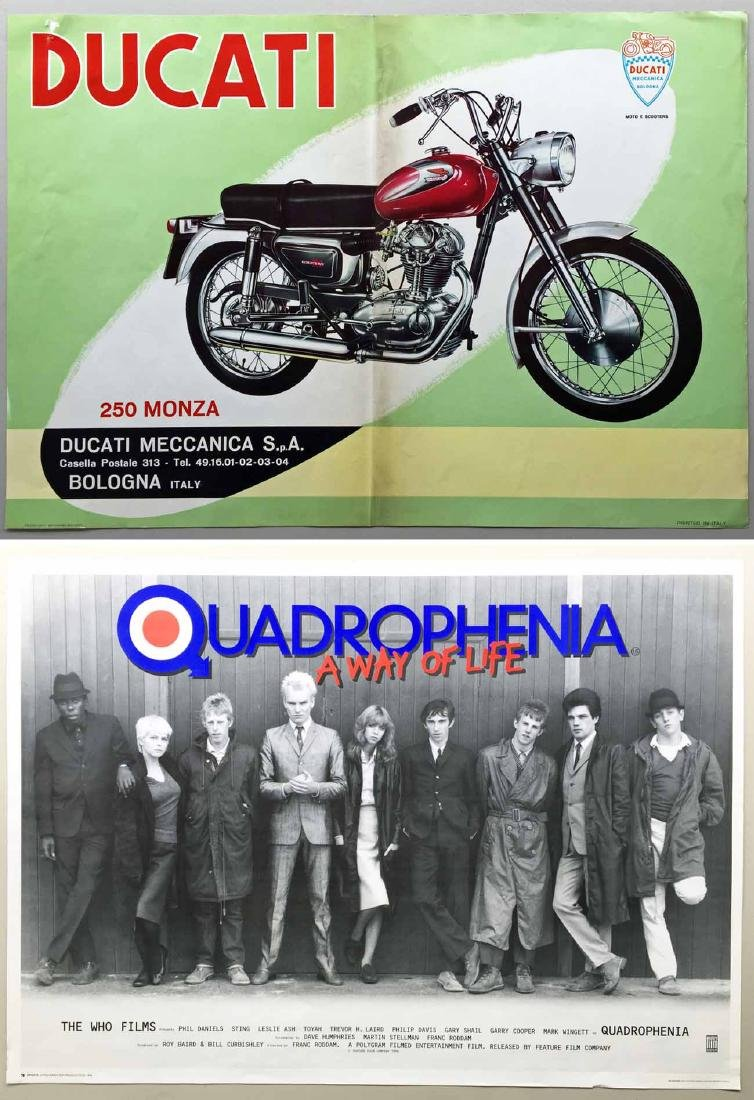 (2) Ducati Poster and Movie Poster