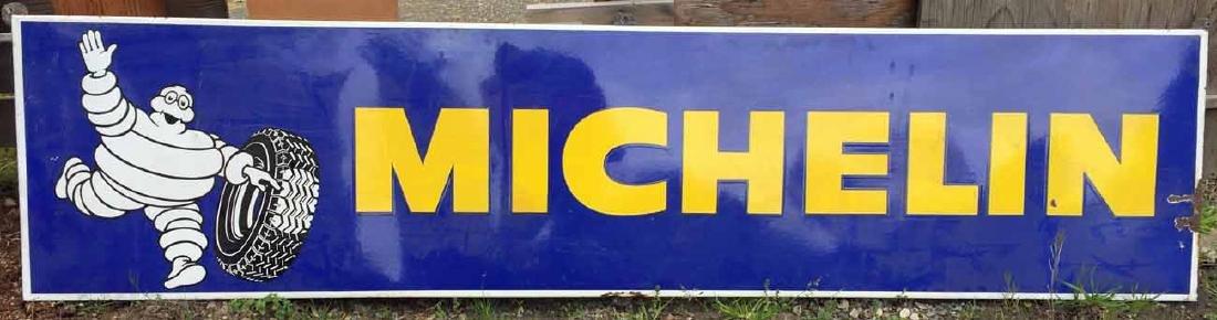 Michelin Enamel Sign