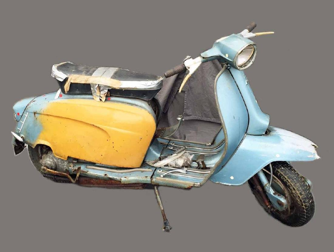 1962-65 Lambretta, Model TV175 Scooter