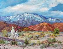 Charles Weigel California Landscape Oil Painting