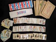Large Collection of Cigarette Cards