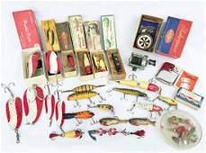 Collection of Antique and Vintage Fishing Lures