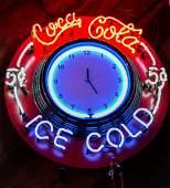 Coca Cola Neon Clock
