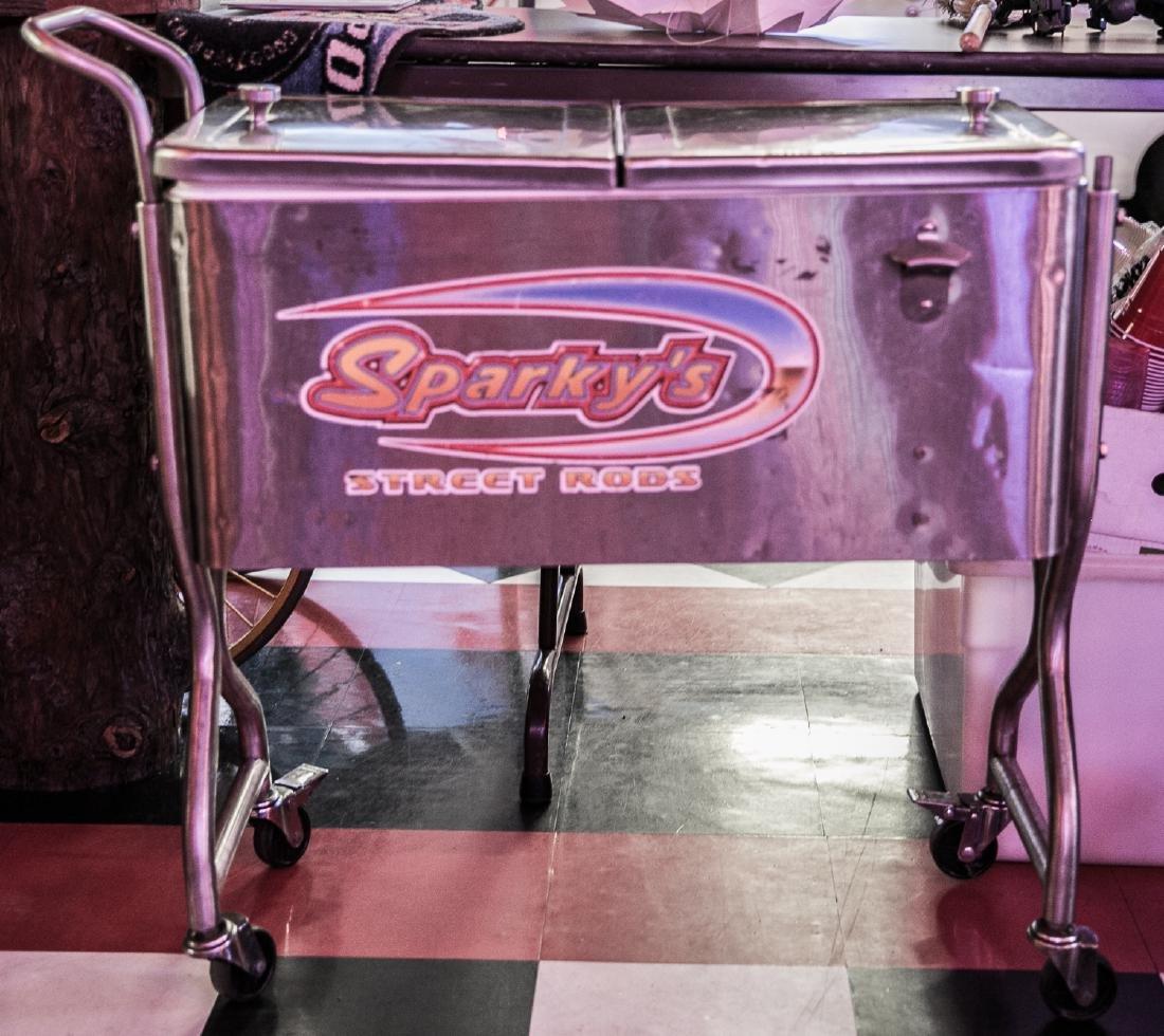 (2) Vintage Aluminum Coolers