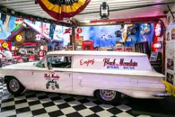 1960 Chevy Biscayne Two Door Delivery Car