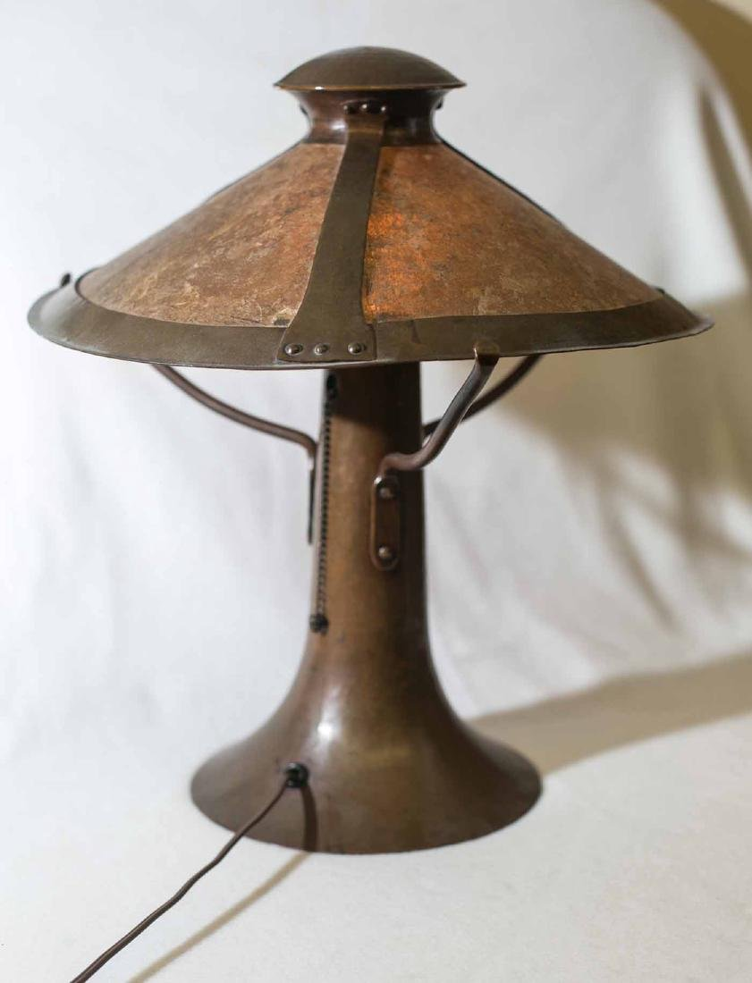 Dirk Van Erp Trumpet Mica Lamp - 5