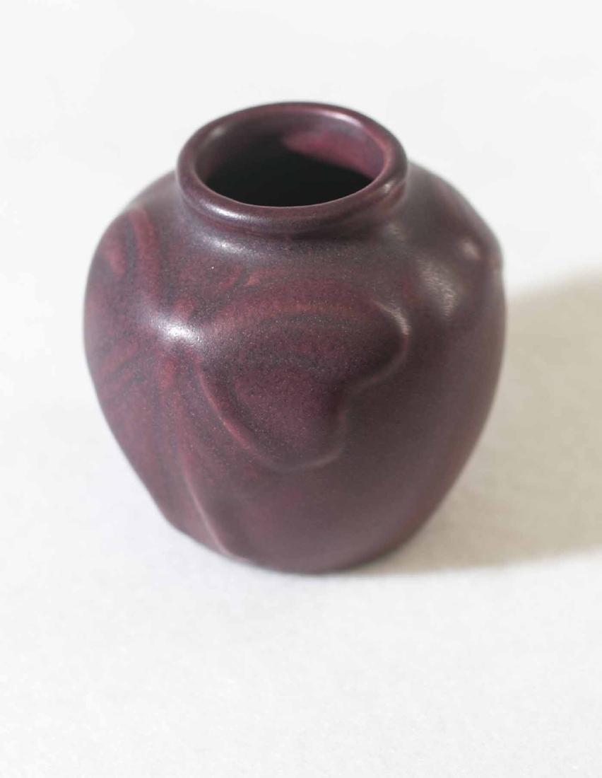 1917 Van Briggle Butterfly Vase - 2