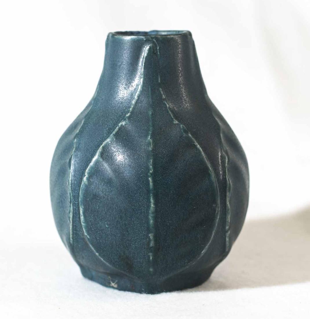1915 Van Briggle Leaf Vase