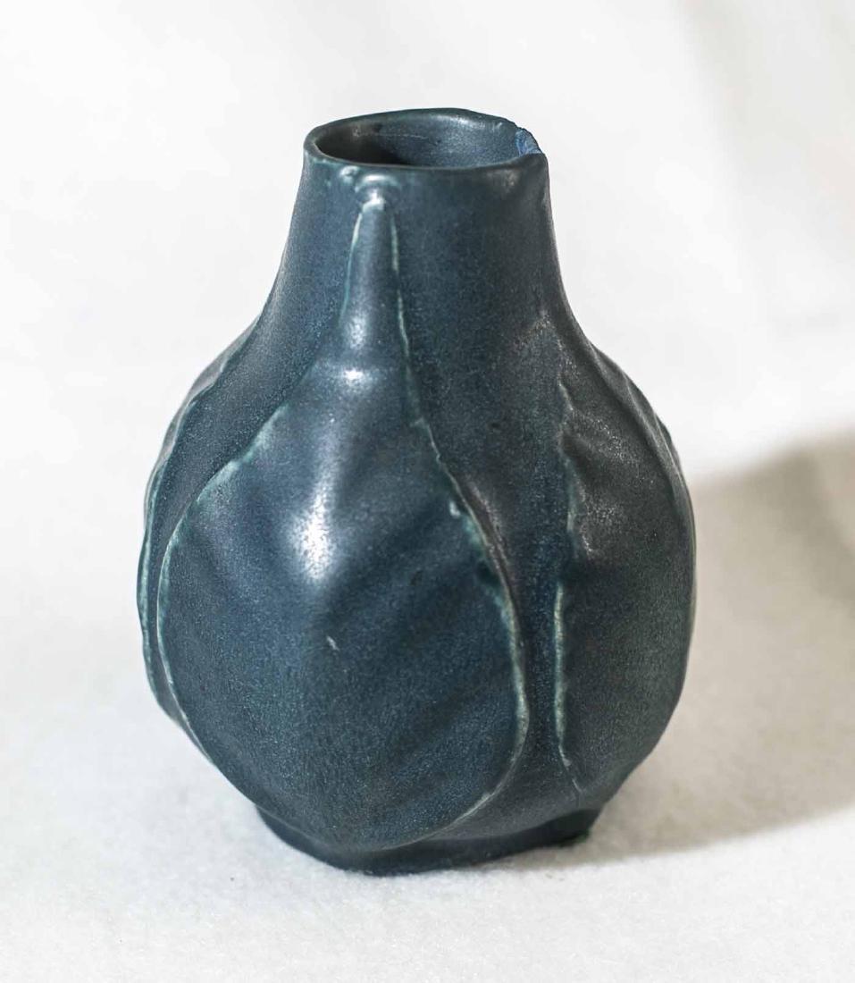 1915 Van Briggle Leaf Vase - 3