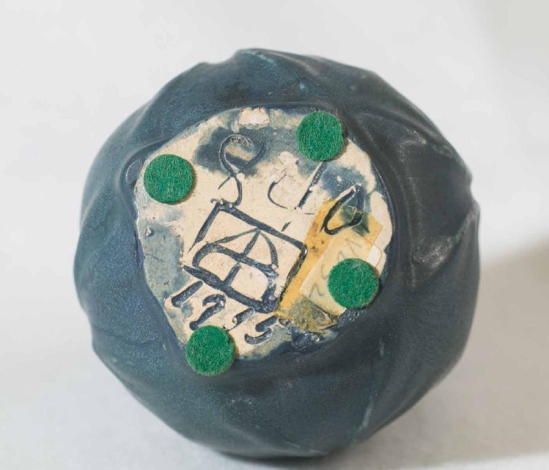 1915 Van Briggle Leaf Vase - 4