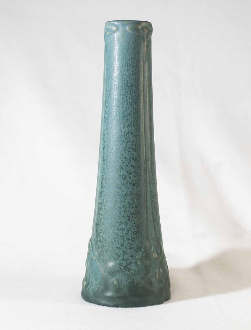 """Early Van Briggle Vase 10 1/4"""" - 2"""