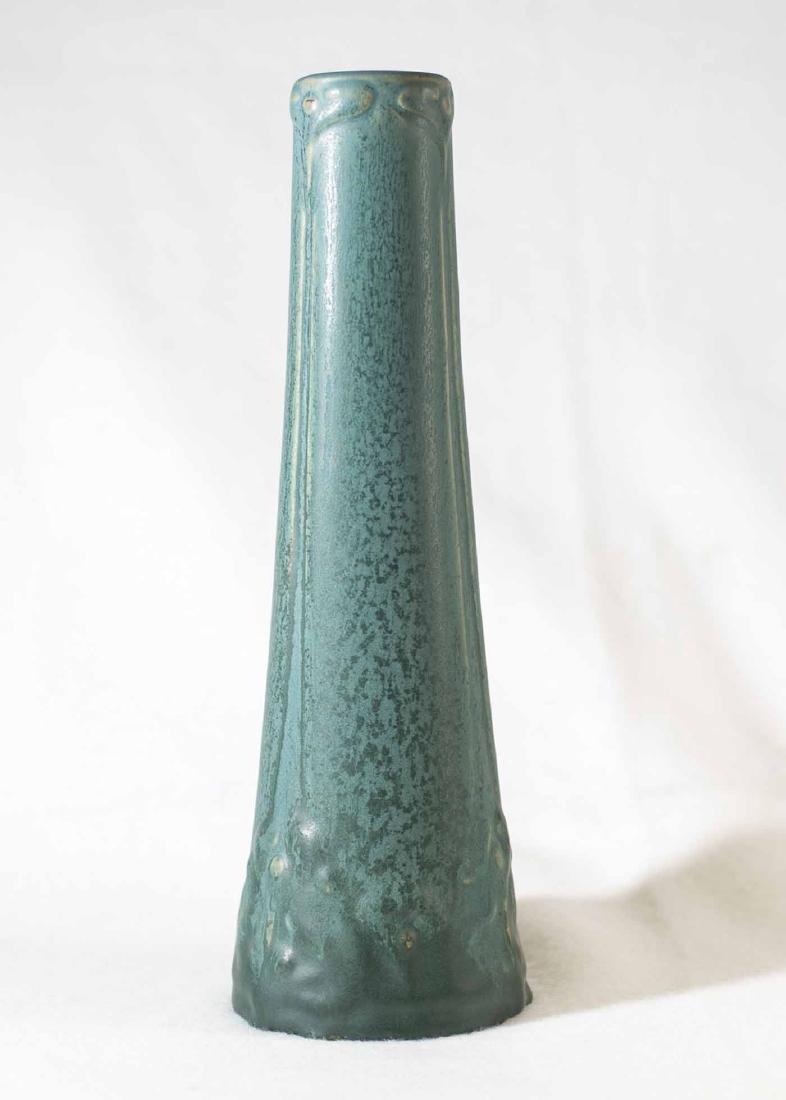 """Early Van Briggle Vase 10 1/4"""" - 3"""