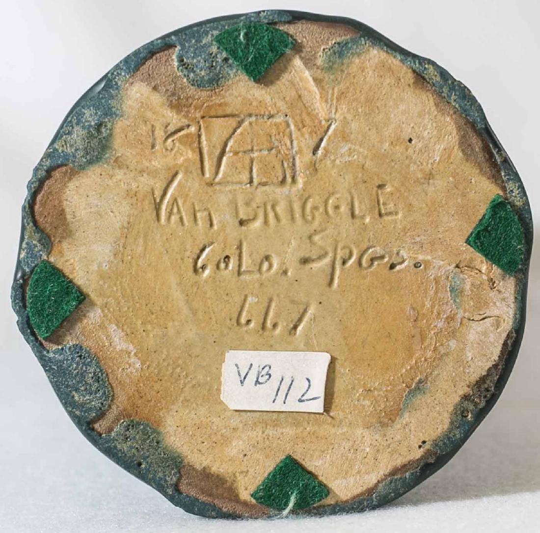 """Early Van Briggle Vase 10 1/4"""" - 5"""