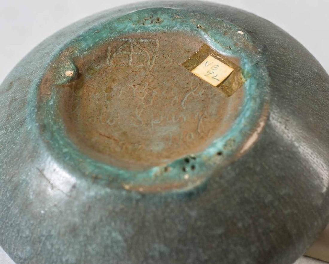 1907 Van Briggle Bowl - 3
