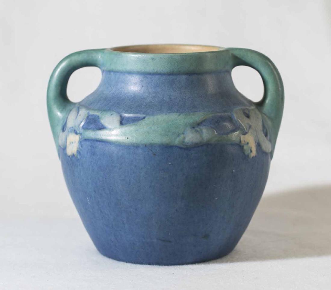 Sadie Irvine Newcomb Double Handle Vase - 4