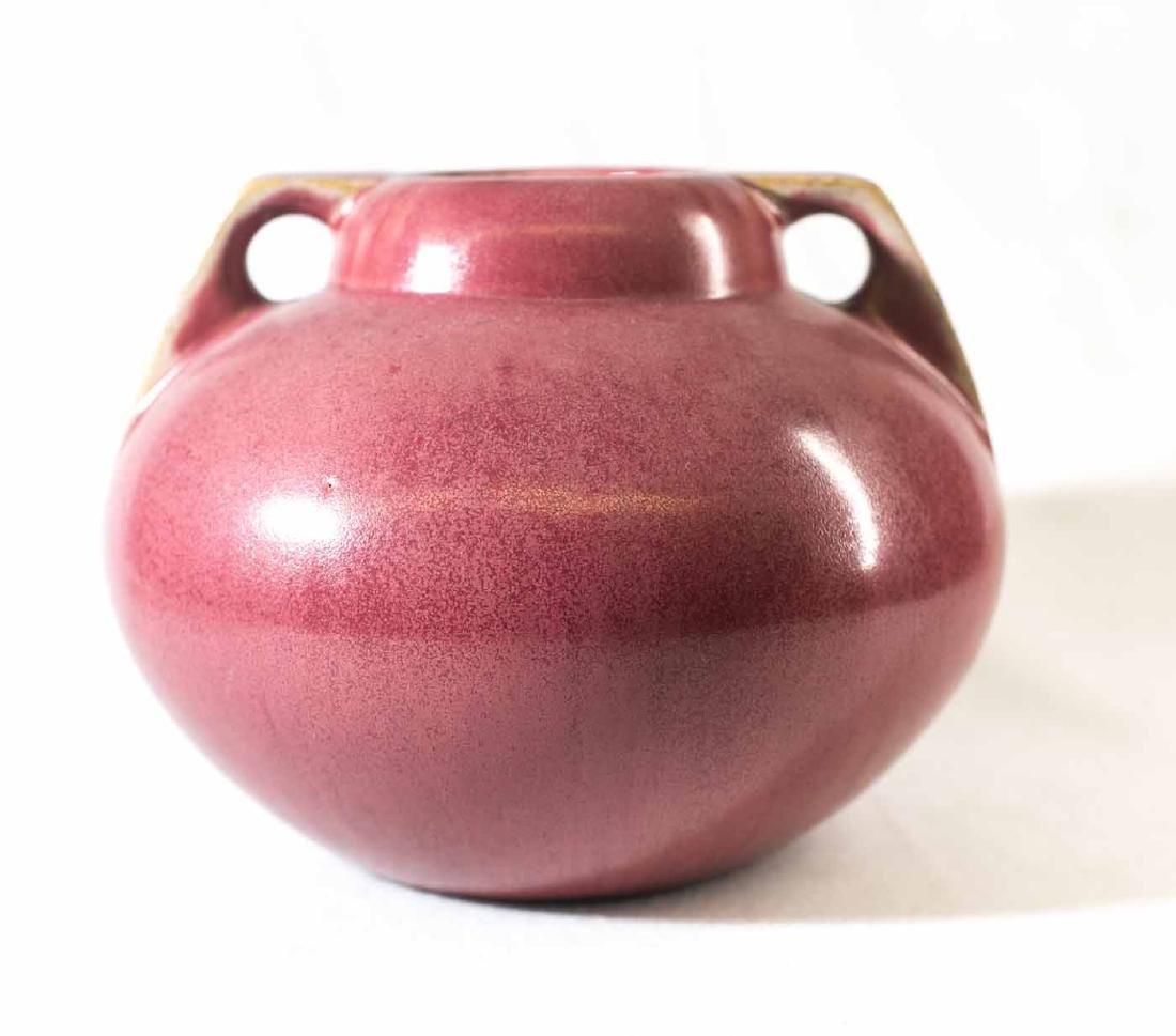 Fulper Double Handle Vase