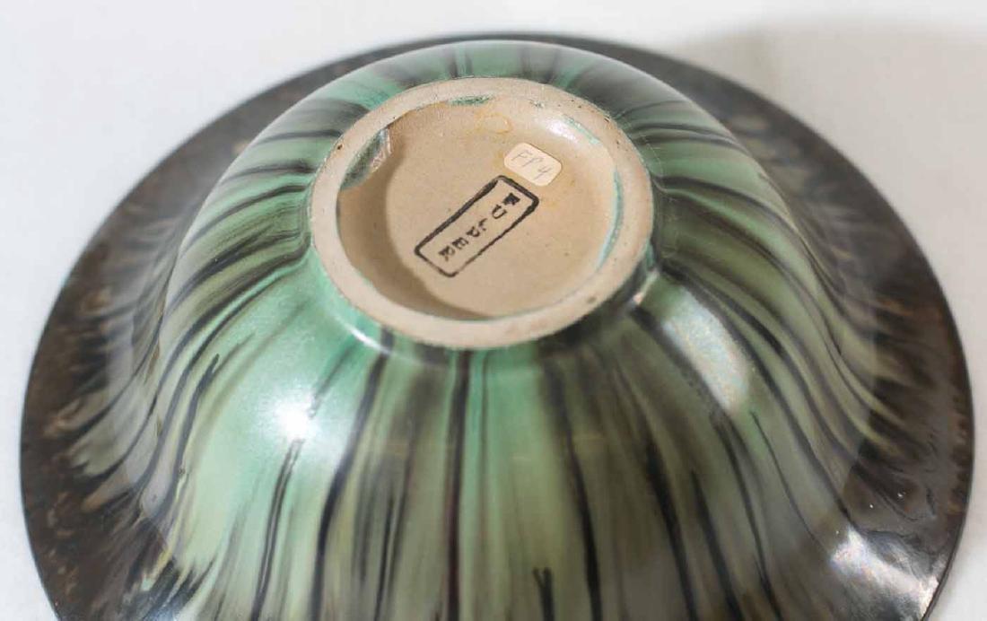 Fulper Bowl and Vase - 4