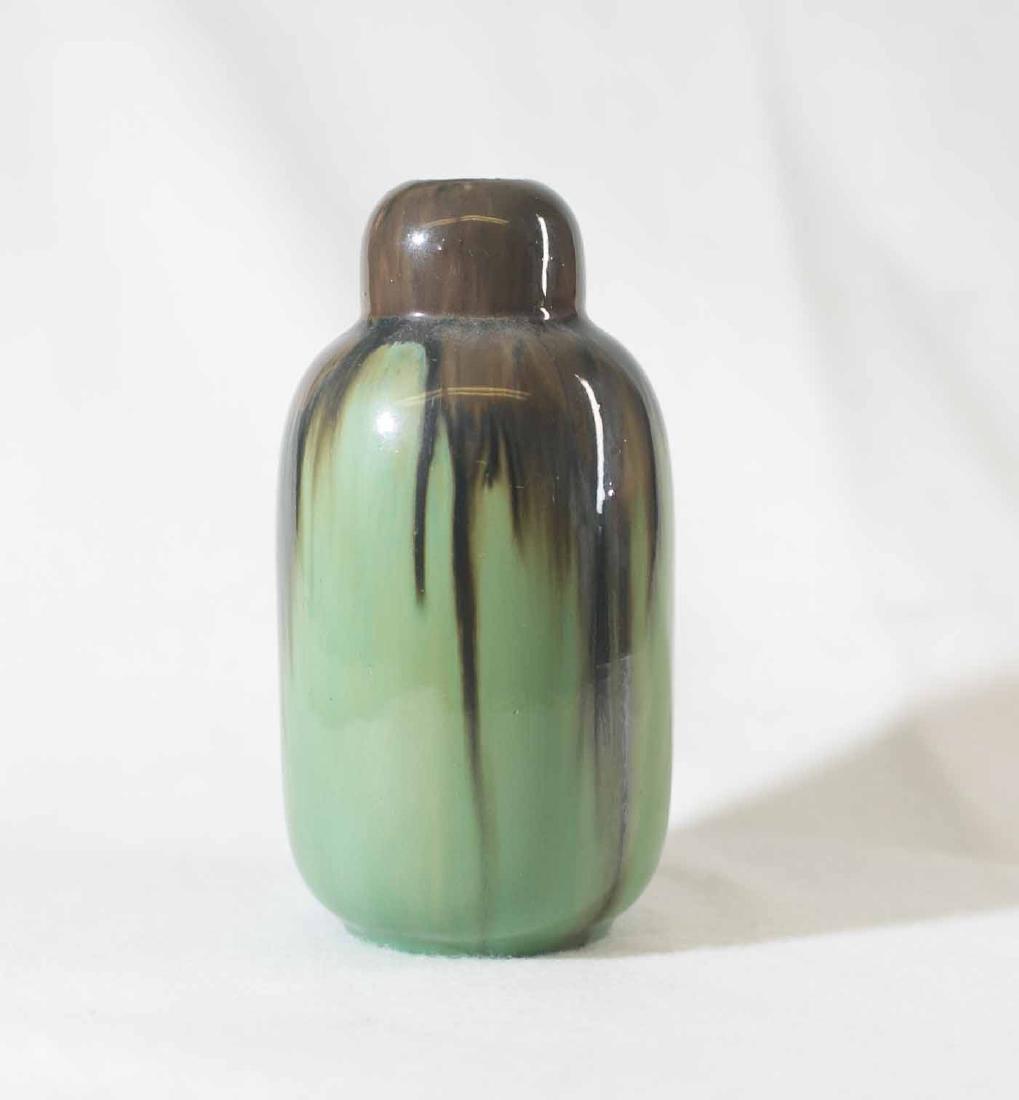 Fulper Bowl and Vase - 5