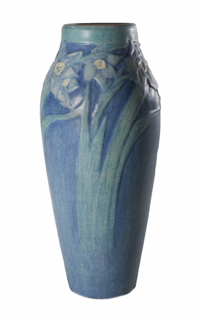 "Sadie Irvine 8 1/2"" Newcomb Vase"