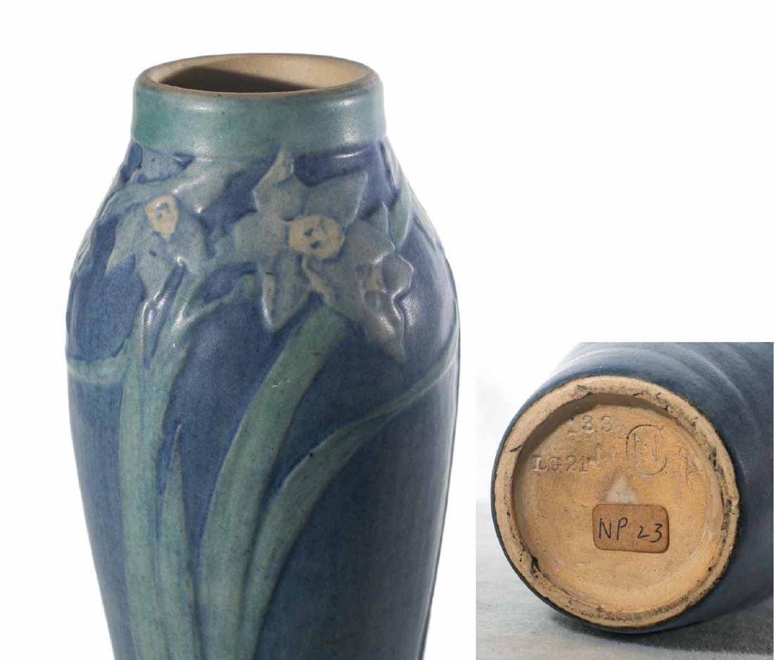 "Sadie Irvine 8 1/2"" Newcomb Vase - 3"