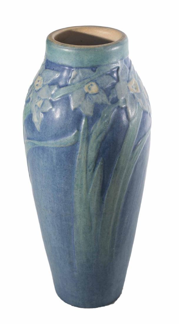"Sadie Irvine 8 1/2"" Newcomb Vase - 4"