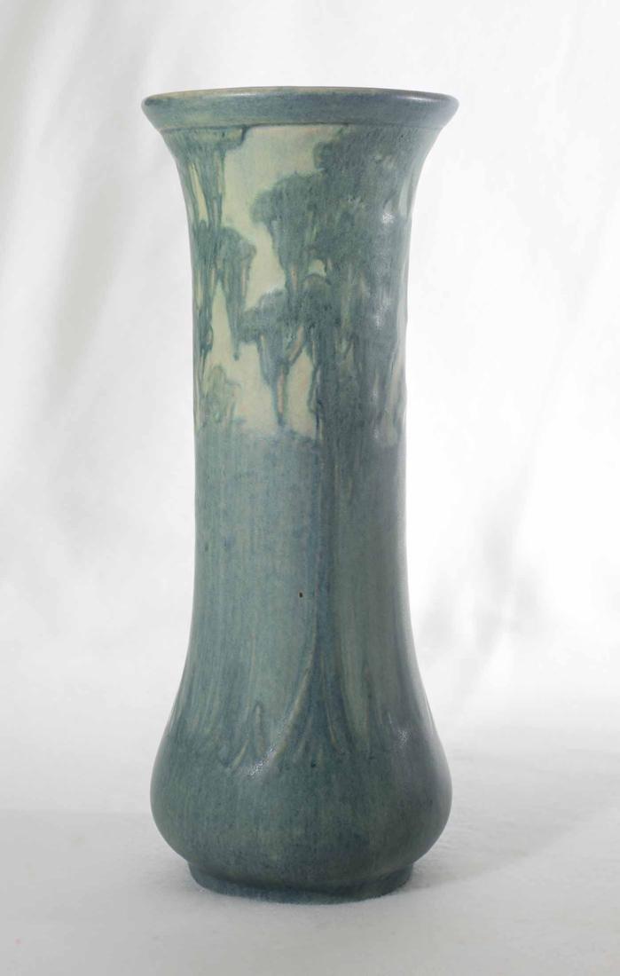 "Anna Frances Simpson 8 3/4"" Newcomb Vase - 3"
