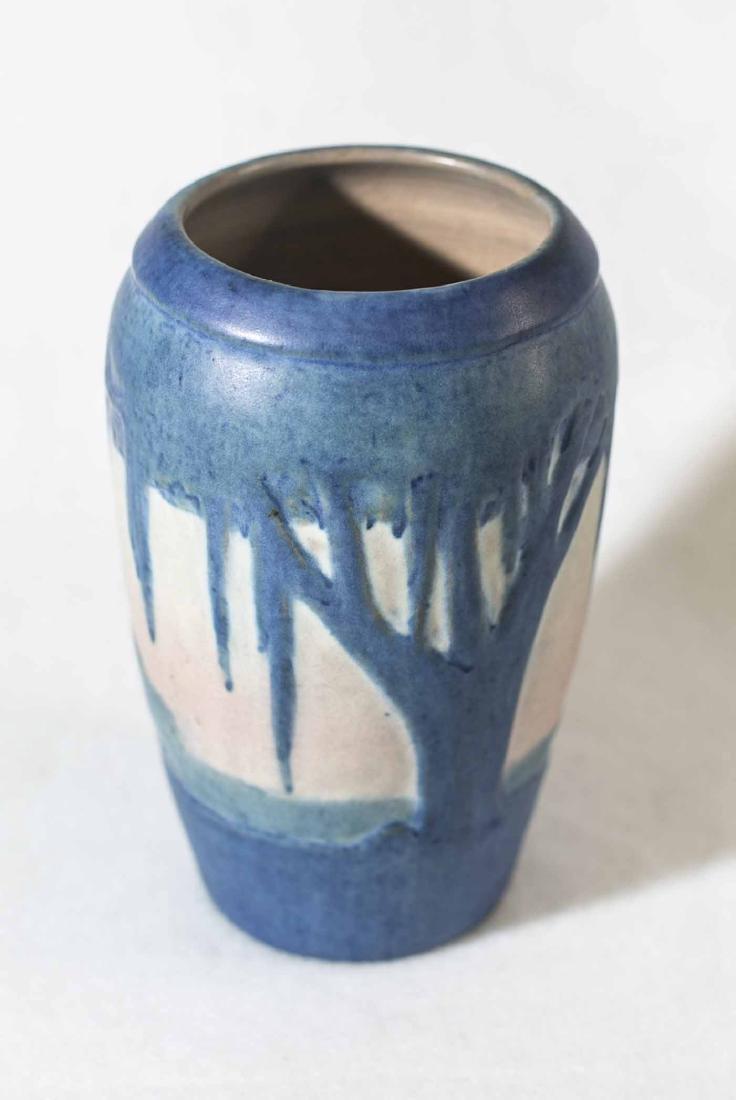 Sadie Irvine Newcomb Vase - 4