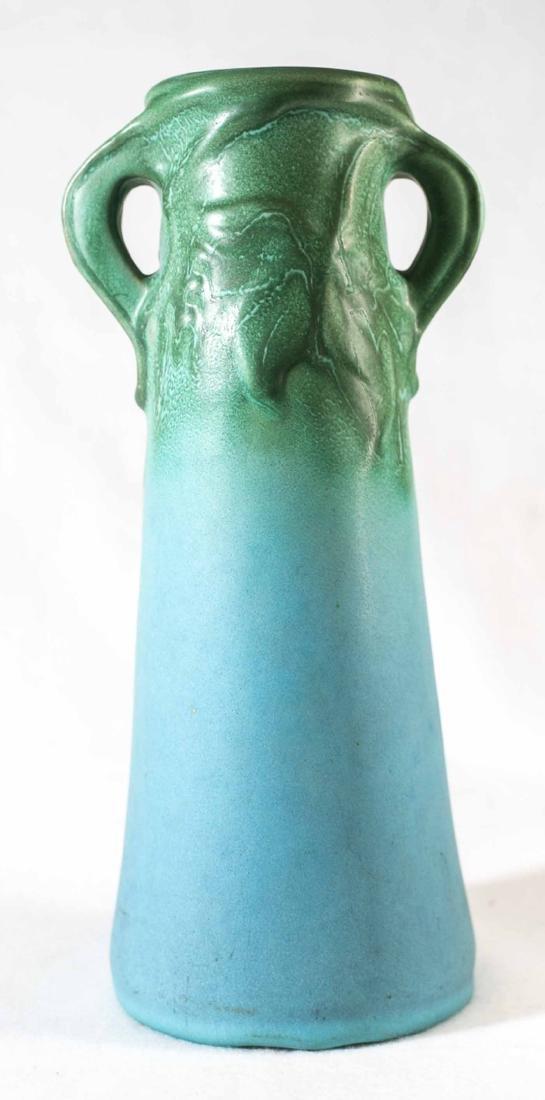 Early Van Briggle Double Handle Vase
