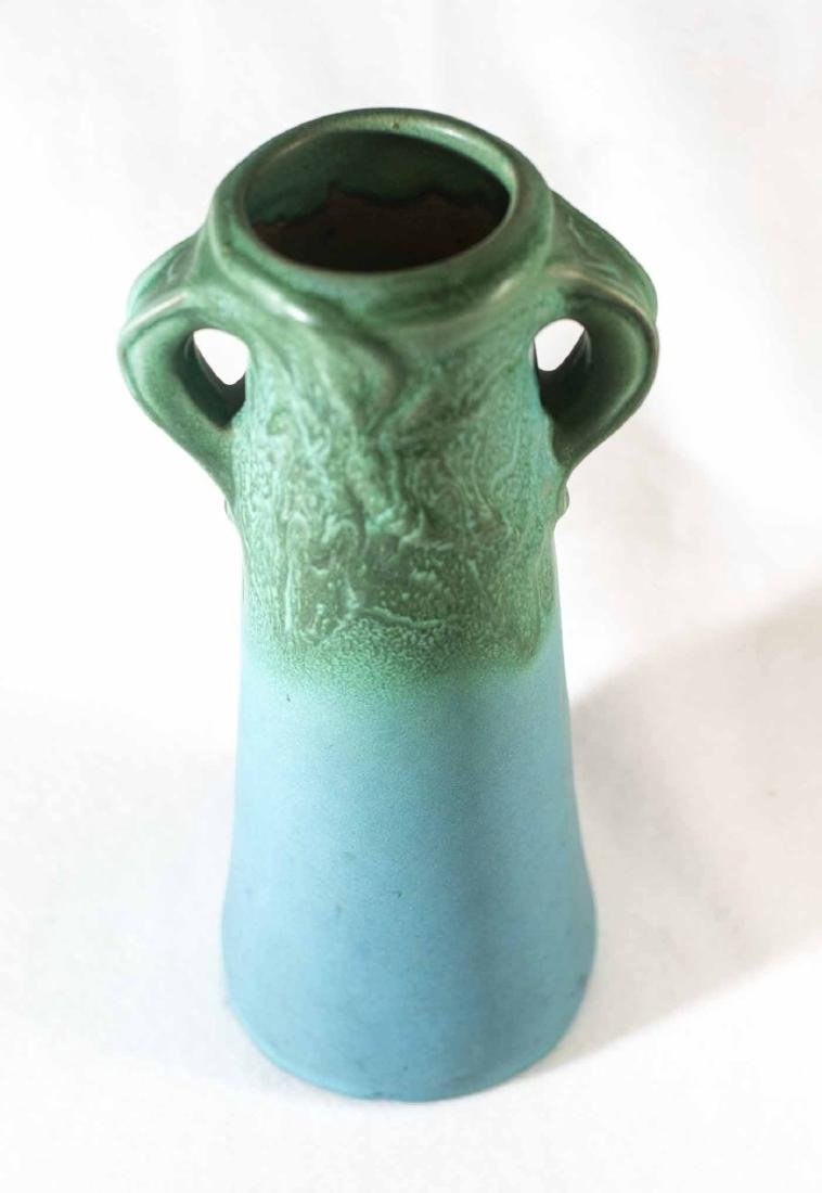 Early Van Briggle Double Handle Vase - 3