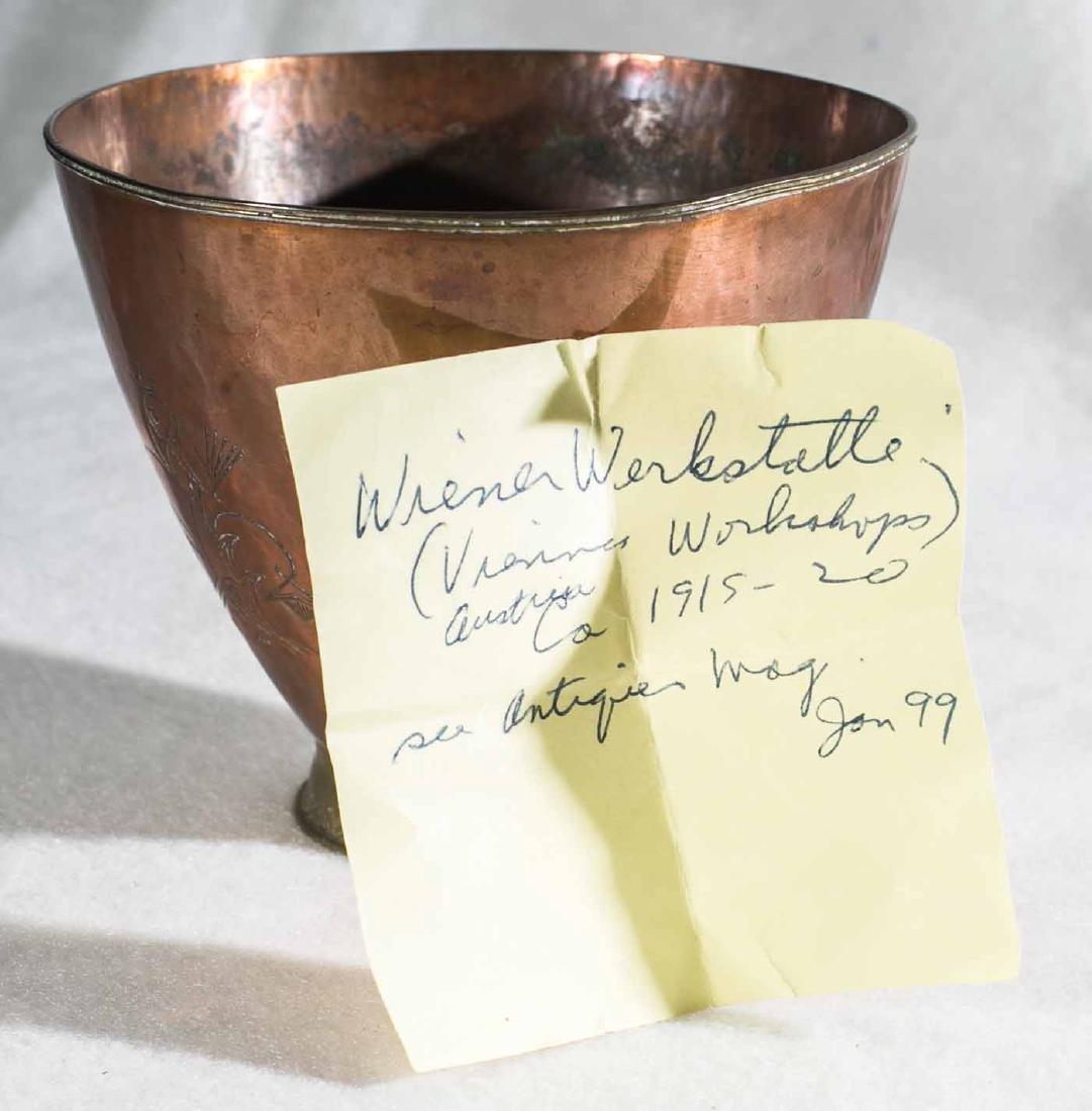 Wiener Werkstatte Brass Cup - 7