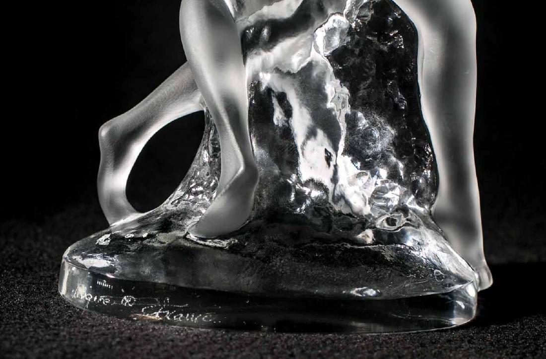 Lalique Deux Danseuses Crystal Figurine - 5