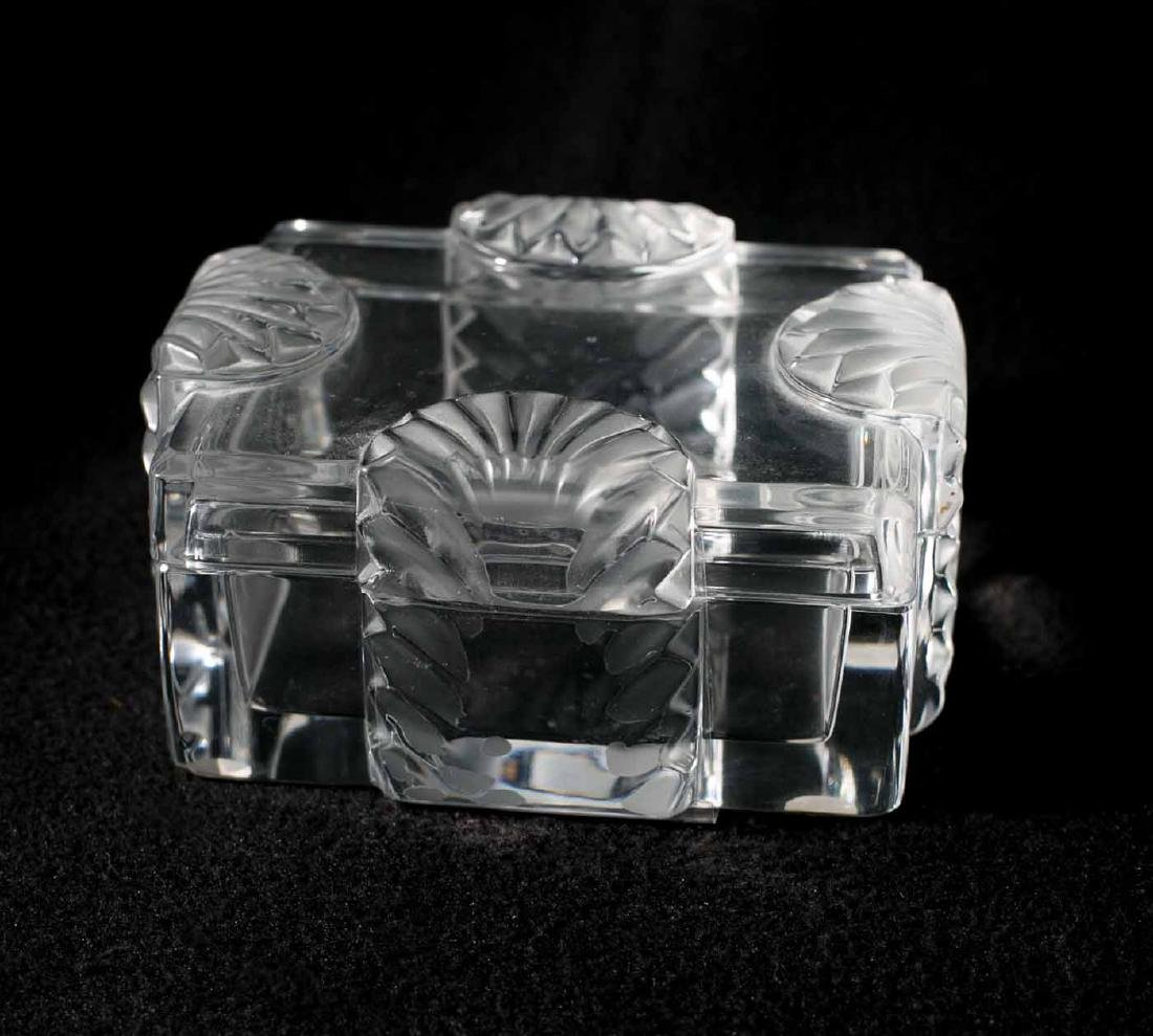 Lalique Jewelry Box