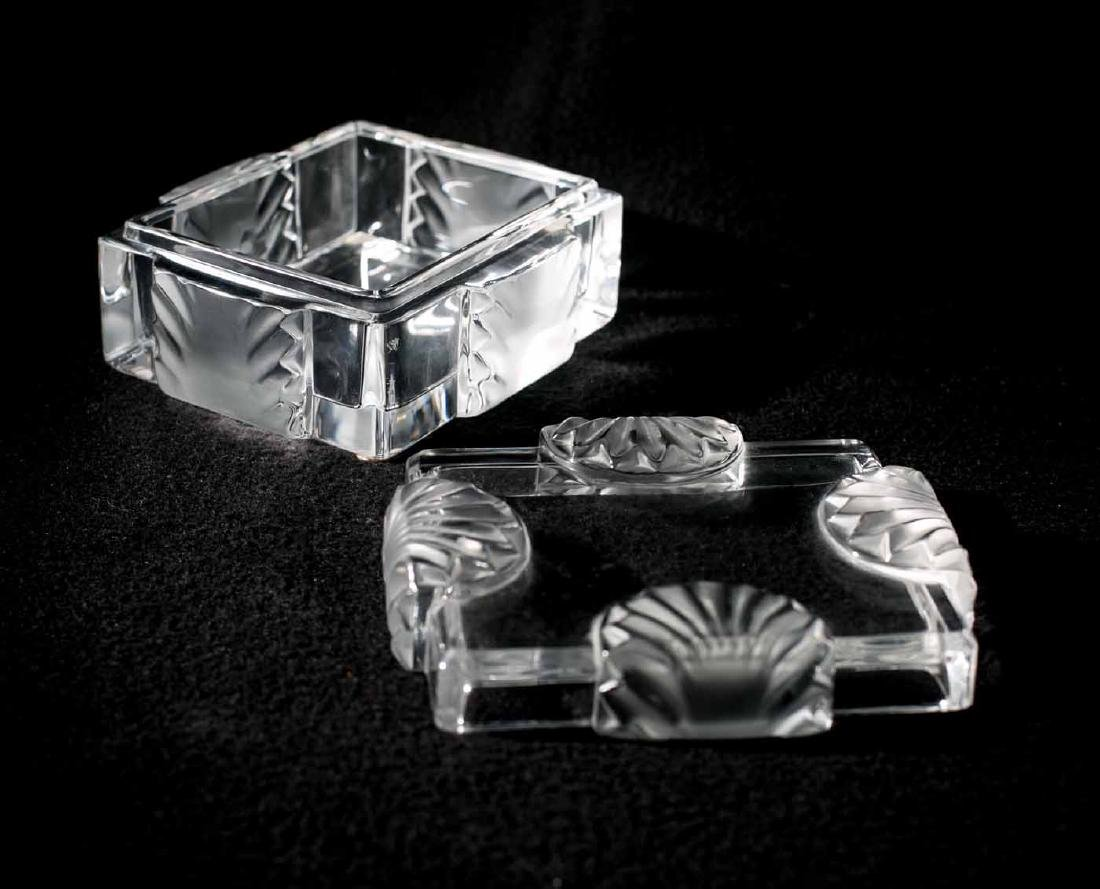 Lalique Jewelry Box - 3
