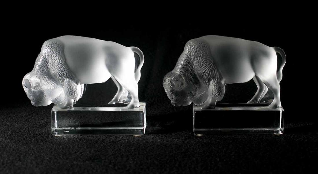 Lalique Buffalos